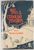Books:Science Fiction & Fantasy, [JERRY WEIST COLLECTION]. Ramsey Campbell [editor]. SIGNED. New Tales of the Cthulhu Mythos. [Sauk City]: Arkham Hou...