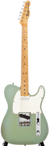 Musical Instruments:Electric Guitars, 1967 Fender Telecaster Ice Blue Metallic Solid Body ElectricGuitar, #212722....
