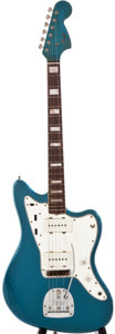 Musical Instruments:Electric Guitars, 1966 Fender Jazzmaster Lake Placid Blue Guitar, #153994....
