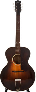 Musical Instruments:Acoustic Guitars, 1932 Gibson L-4 Sunburst Archtop Acoustic Guitar, #89342....