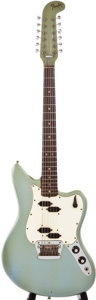 Musical Instruments:Electric Guitars, 1966 Fender Electric XII Ice Blue Metallic Solid Body ElectricGuitar, #169499....