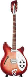 Musical Instruments:Electric Guitars, 2000 Rickenbacker 360/12 CW Carl Wilson Limited Edition Fireglo12-String Semi-Hollow Body Electric Guitar, #00 21889....