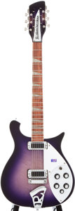 Musical Instruments:Electric Guitars, 1996 Rickenbacker 660/12 Purpleburst 12-String Solid Body Electric Guitar, #D9 7869....