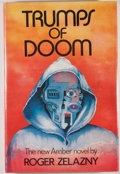 Books:Science Fiction & Fantasy, [JERRY WEIST COLLECTION]. Roger Zelazny. SIGNED. Trumps ofDoom. New York: Arbor House, [1985]. First edition, f...