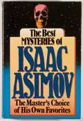 Books:Mystery & Detective Fiction, [JERRY WEIST COLLECTION]. Isaac Asimov. REVIEW COPY. The BestMysteries of Isaac Asimov. Garden City: Doubleday, 198...