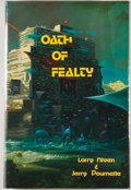 Books:Science Fiction & Fantasy, [JERRY WEIST COLLECTION]. Larry Niven and Jerry Pournelle. SIGNED/LIMITED. Oath of Fealty. Huntington Woods: Phantas...