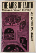 Books:Science Fiction & Fantasy, [JERRY WEIST COLLECTION]. Brian W. Aldiss. SIGNED. The Airs of Earth. London: Faber and Faber, [1963]. First edition...