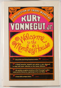 Books:First Editions, Kurt Vonnegut, Jr. Welcome to the Monkey House. [New York]: Seymour Lawrence/Delacorte Press, [1968]. First edition,...