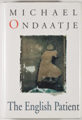 Books:Signed Editions, Michael Ondaatje. SIGNED. The English Patient. [Ontario]: M&S, [1992]. First Canadian edition, first printing. Sig...