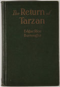 Books:Science Fiction & Fantasy, Edgar Rice Burroughs. The Return of Tarzan. Chicago:McClurg, 1915. First edition, first printing. Octavo. 365 p...