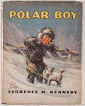 Books:Children's Books, Florence M. Kennedy. Polar Boy, Being a Story of Arklio, aLittle Eskimo Boy Who Lives in Greenland. Akron: The ...