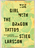 Books:Mystery & Detective Fiction, Stieg Larsson. The Girl With the Dragon Tattoo. New York:Knopf, 2008. First American edition, first printing. Octav...