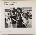 Books:Photography, Bruce Davidson. SIGNED. Photographs. [New York]: Agrinde/Summit, [1978]. First edition. Signed by Davidson on ha...