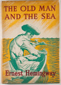 Books:Literature 1900-up, Ernest Hemingway. The Old Man and the Sea. London: TheReprint Society, [1953]. First illustrated edition. Octav...
