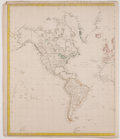 Antiques:Posters & Prints, J. & C. Walker. World Map In Two Parts, The World On Mercator's Projection. Fields: Society for the Diffusion of...