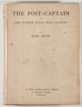 Books:Literature Pre-1900, John Davis. The Post-Captain, or The Wooden Walls WellManned Comprehending a View of Naval Society and Manners....