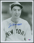 Baseball Collectibles:Photos, Joe DiMaggio Signed Photograph....
