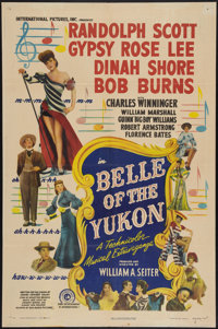 "Belle of the Yukon (RKO, 1944). One Sheet (27"" X 41""). Musical"
