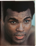 Boxing Collectibles:Autographs, 1980 Muhammad Ali Signed Hardcover Book....