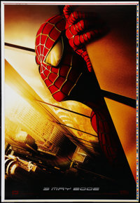 """Spider-Man (Columbia, 2002). Printer's Proof One Sheet (28"""" X 41"""") Advance SS. Action"""