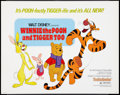 "Movie Posters:Animated, Winnie the Pooh and Tigger Too! (Buena Vista, 1974). Half Sheet(22"" X 28""). Animated.. ..."