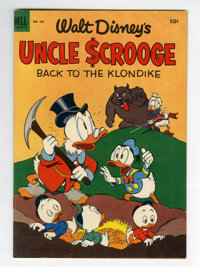 Four Color #456 Uncle Scrooge (#2) (Dell, 1953) Condition: FN