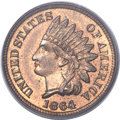 Patterns, 1864 1C Indian Cent, Judd-356a, Pollock-427, Low R.6, MS65 Red and Brown PCGS. CAC....