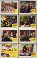 "Movie Posters:Adventure, The Return of Monte Cristo (Columbia, 1946). Lobby Card Set of 8(11"" X 14""). Adventure.. ... (Total: 8 Items)"