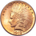 Indian Eagles, 1912 $10 MS65 PCGS....
