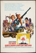 "Movie Posters:War, The Sand Pebbles (20th Century Fox, 1966). Window Card (14"" X 22"").War.. ..."