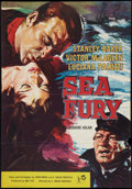 "Movie Posters:Adventure, Sea Fury (Rank, 1960). British One Sheet (27.25"" X 39.25"").Adventure.. ..."