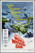 """Movie Posters:Documentary, World without Sun & Other Lot (Columbia, 1964). One Sheets (2) (27"""" X 41""""). Documentary.. ... (Total: 2 Items)"""