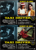 "Movie Posters:Crime, Taxi Driver (Columbia, 1976). Italian Photobustas (2) (18"" X 26"").Crime.. ... (Total: 2 Items)"