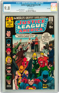 Bronze Age (1970-1979):Superhero, Justice League of America #88 Twin Cities pedigree (DC, 1971) CGCNM/MT 9.8 White pages....