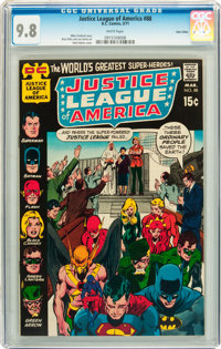 Justice League of America #88 Twin Cities pedigree (DC, 1971) CGC NM/MT 9.8 White pages