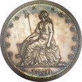 Patterns, 1870 50C Half Dollar, Judd-934, Pollock-1040, Low R.7, PR64 PCGS. CAC....