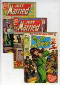 Silver Age (1956-1969):Romance, Charlton/Marvel Silver and Bronze Age Romance Comics Group(Charlton/Marvel, 1960s-'70s) Condition: Average FN+.... (Total: 25Comic Books)