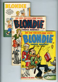 Golden Age (1938-1955):Humor, Blondie Comics File Copy Short Box Group (Harvey, 1950-65) Condition: Average VF....