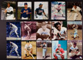 Miscellaneous Collectibles:General, Baseball and Football Greats Signed Photographs Lot of 29....