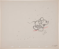 Alpine Climbers Production Drawing Animation Art (Disney, 1936)