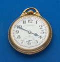 Timepieces:Pocket (post 1900), Illinois 161 A Elinvar 21 Jewel 60 Hour Bunn Special. ...