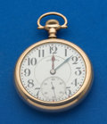 Timepieces:Pocket (post 1900), Illinois 17 Jewel 16 Size Time King Pocket Watch. ...