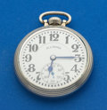 Timepieces:Pocket (post 1900), Illinois 161 Elinvar 21 Jewel Bunn Special Pocket Watch. ...