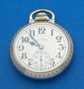 Timepieces:Pocket (post 1900), Illinois 161 A Elinvar 21 Jewel Bunn Special For Repair. ...