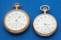Timepieces:Pocket (post 1900), Two Pocket Watches - Howard & Rockford 16 Sizes Runners. ...(Total: 2 Items)