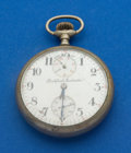 Timepieces:Pocket (post 1900), Rockford 21 Jewel Grade 655 With Wind Indicator For Restoration. ...