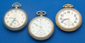 Timepieces:Pocket (post 1900), Three Pocket Watches 16 Sizes Runners. ... (Total: 3 Items)