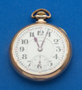 Timepieces:Pocket (post 1900), Illinois 23 Jewel Sangamo Special Bridge Model Pocket Watch. ...