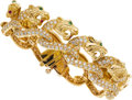 Estate Jewelry:Bracelets, Diamond, Ruby, Emerald, Gold Bracelet, EV Jewelry. ...