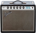 Musical Instruments:Amplifiers, PA, & Effects, 1968 Fender Princeton Reverb Black Guitar Amplifier, #A 22181....